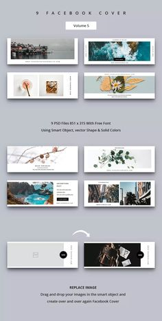 Facebook Cover Photos Creative, Facebook Cover Photo Template, Facebook Layout, Facebook Cover Design, Fb Cover Photos, Facebook Banner, Banner Design Inspiration, Web Banner Design, Web Design