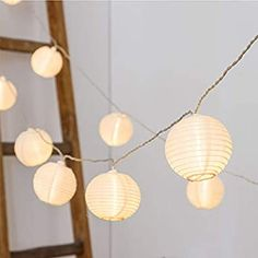 Amazon.com: Vigdur Fairy Lights Mini-Lantern String Lights Waterproof Connectable Nylon Hanging Light Plug in 10FT White Decorative for Patio Wedding Party Bedroom Indoor Outdoor Use: Home Improvement