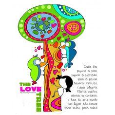 """Lámina """"The love tree"""""""