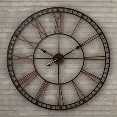"Trent Austin Design Methuen Oversized 39"" XXL Wall Clock"