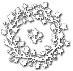 Frantic Stamper - Precision Dies - Ivy Wreath
