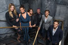 Huge cast!Supermodel Megan Gale joins the cast as a permanent judge…
