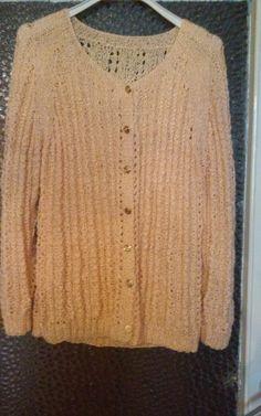 Sweter azurowy