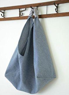 Sacola Ecobag Estilo Origami Passo a Passo      81