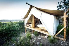 Safari Tent Camping in California | Glamping in California