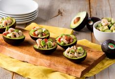 Stuffed Avocados with Shrimp and Cucumber Salad - Del Monte Fresh
