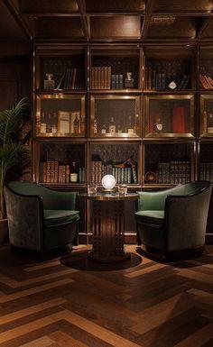 Super Home Library Bar Interior Design Ideas Bar Lounge, Office Lounge, Style Lounge, Cigar Lounge Decor, Office Bar, Lounge Seating, Whiskey Lounge, Whiskey Room, Zigarren Lounges