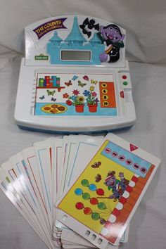Sesame Street The Counts Numberland Tectron learning computer toy vintage