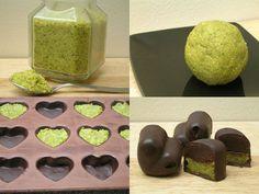 Pralines truffe & pistaches