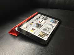 iPad mini black with (product) RED cover