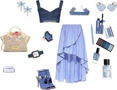 TerraCoquetta: Blue ruffles