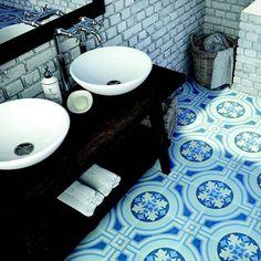 Bold beautiful #pattern in #blue regrammed from the @annsacks Insta-stream / #tiletuesday #tiles #tile #tiling #floortiles #ihavethisthingwithfloors #ihavethisthingwithtiles #dsfloors #bathroom #bathroomdesign #interior #interiors #interiordesign #interiordesigner #tileaddiction #tilelove #instahome #instadecor #homedecor #homedesign #tileart #tiledesign #designideas #flooring #bluetile by tiletuesday