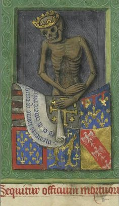 Your virtual eye on illuminated manuscripts, rare books, and the stories behind them. Memento Mori, Medieval World, Medieval Art, Medieval Manuscript, Illuminated Manuscript, Vanitas, Illustrations, Illustration Art, Angers France