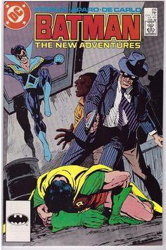 Batman #416 Feb 1988 DC Comic Book White Gold And Truth Robin Nightwing