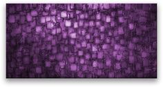 Oil Painting Abstract Modern Contemporary Home Decor Art on Canvas Deep Purple