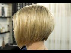 Градуированный Боб. Короткая женская стрижка 2018 / Bob / Short women Haircut. Fashion Haircut 2018 - YouTube