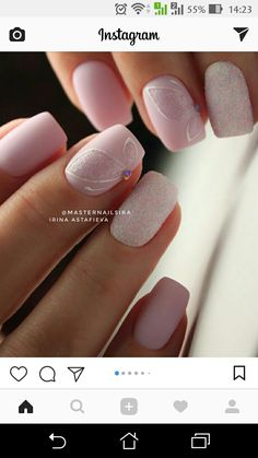 Want to know how to do gel nails at home? Learn the fundamentals with our DIY tutorial that will guide you step by step to professional salon quality nails. Fancy Nails, Trendy Nails, Love Nails, Nail Manicure, Diy Nails, Shellac Nails, Acrylic Nails, Nagel Hacks, Pink Nail Art