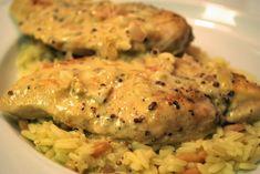 Tejfölös mustáros csirkemell – ínycsiklandó omlós hús, mámorító szósszal!