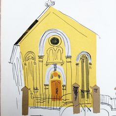 """""""Chapel"""" by John Piper. Taken from the Autumn 1947 issue of 'Image'"""