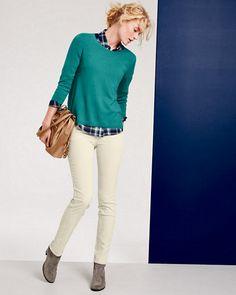Modern A-Line Cashmere Sweater