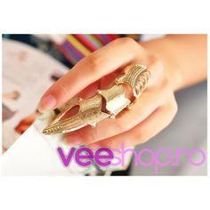 Gheara ascutita argintie, pe toata lungimea degetului, flexibila, cu tepisori mici, ajustabila