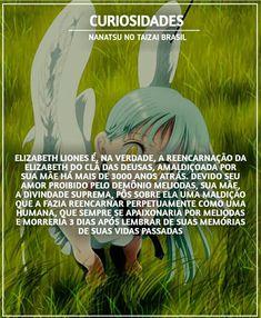 Elizabeth Liones - Nanatsu no taizai ... isso é verdade ... incríveis