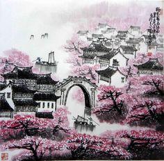 Korean Art, Asian Art, Chinese Style, Chinese Art, Chinese Brush, Chinese Painting, Watercolour Painting, Traditional Art, My Images