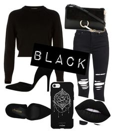A fashion look from February 2018 featuring long-sleeve crop tops, ripped skinny jeans and black pumps. Browse and shop related looks. Destroyed Jeans, Stiletto Pumps, Ripped Skinny Jeans, Long Sleeve Crop Top, Helmut Lang, Black Pumps, Fashion Looks, Crop Tops, Polyvore