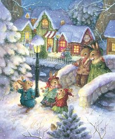 Image detail for -Stave Puzzles: Candy Canes and Cotton Tails (Traditional)