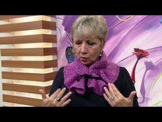 Vitória Quintal - Gola Denise Serveiro em tricô (Parte 1) - YouTube
