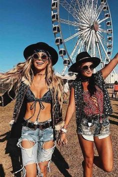 Hottest Festival Outfits For Coachella Are Right Here ★ See more: http://glaminati.com/coachella-festival-outfits/