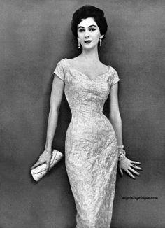 Model Dovima. Jerry Gilden 1954