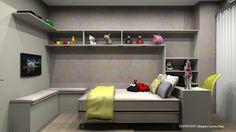 Decor: Papel de parede para quarto de criança!