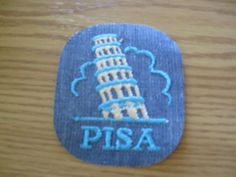 Pisa 70s vintage patch sewon RARE bluejean by UndergroundSkunk, $1.50