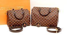 กระเป๋าหลุยส์ LV SPEEDY DAMIER WITH BAN  ไซส์ 25 และ 30 รุ่นยอดนิยม ของใหม่ พร้อมส่งจ้าาา!!! - Iris Shop