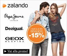 Zalando esclusivo codice sconto del 15% sui brand Desigual, Geox e PepeJeans!