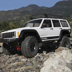Axial® SCX10™ II Jeep Cherokee 4WD Kit.