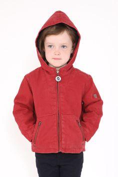 Veste enfant BERNICWIN doublée pour l'hiver avec matelassage #mousqueton #modeenfant