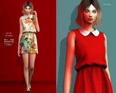 elle dresshere it is guyss! this a super cute dress, and the texture is so soft, I love it.. hope you do too :) - custom thumbnail - not hq compatible - 31 swatches !! high poly !! DOWNLOAD AT MY...