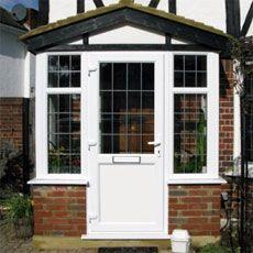 Porches uk front porches porch designs radcliffe for Double glazed porches