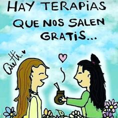 Love Mate, Positive Phrases, Yerba Mate, Spanish Quotes, Quote Posters, Cartoon Images, Girl Quotes, Friendship Quotes, Favorite Quotes