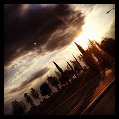 Fine giornata, di ritorno a casa...