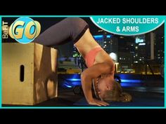 10 Min Jacked Shoulders & Arms Mobile Workout: BeFiT GO - YouTube