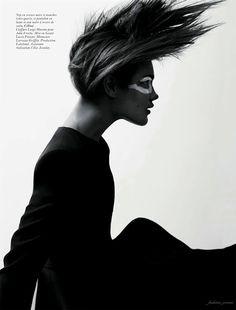Natalia Vodianova in Vogue Paris, March 2012