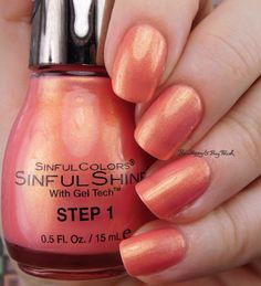 Sinful Colors Bayou Babes I Ain't Jambalayan   Be Happy And Buy Polish https://behappyandbuypolish.com/2017/04/06/sinful-colors-bayou-babes-nail-polish-collection-swatches-review/