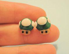 1Up Mushroom by FiolettaKK2 on Etsy, $6.00