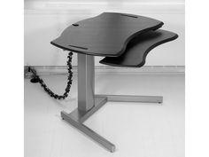 XO2 EL Desk with retractable Keyboard  Ergonomic Standing desk