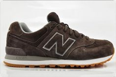 Joes New Balance ML574FSB Sneakers Brown 02E Mens Shoes