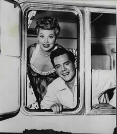 Lucille Ball And Desi Arnaz  The Long Long Trailer (1954)  Press Photo