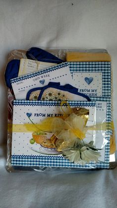 A gift basket for the kitchen, $22.50